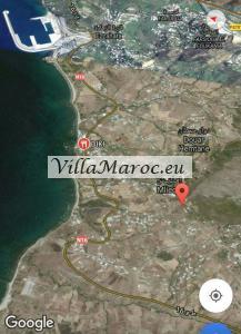 Terrain 2500 m2 vu dominante sur mer بقعة أرضية تطل عل�