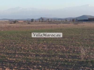 Bouwgrond voor villa('s) of project regio Marrakech voor €6,50/M2!!!