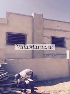 Villa 252m près de la plage mehdya
