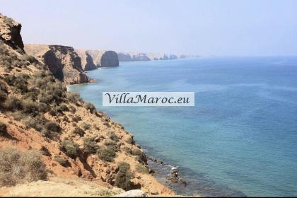 Prachtig Stuk Grond Aan Zee Kaboyawa Tmadet Sidi El Bachir 800 M2