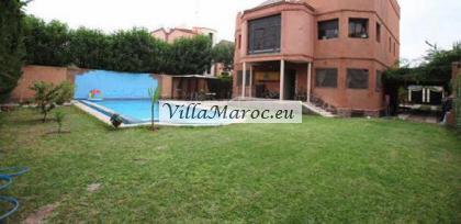 villa 740m2 a vendre marrakech proche carrefour targa