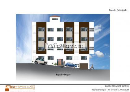 ** Laatste 5 stuks te koop ** 15 Luxe appartementen te koop in Al Hoceima met zeezicht