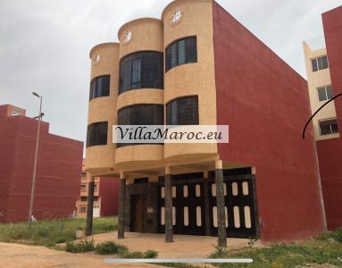 Te koop mooie panoramisch herenhuis/villa in karaksho aan de rotonde Ahram Berkane