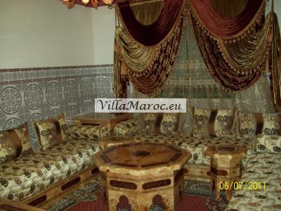 Te huur a Tanger: Gemeubileerd apprtement a Mesnana